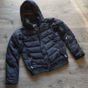 The North Face Down Puffy Snowboard Coat Medium
